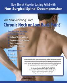 San Francisco Spinal Decompression Brochure