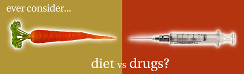 Diet or drugs for diabetes