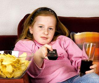 Kids, junk food and TV